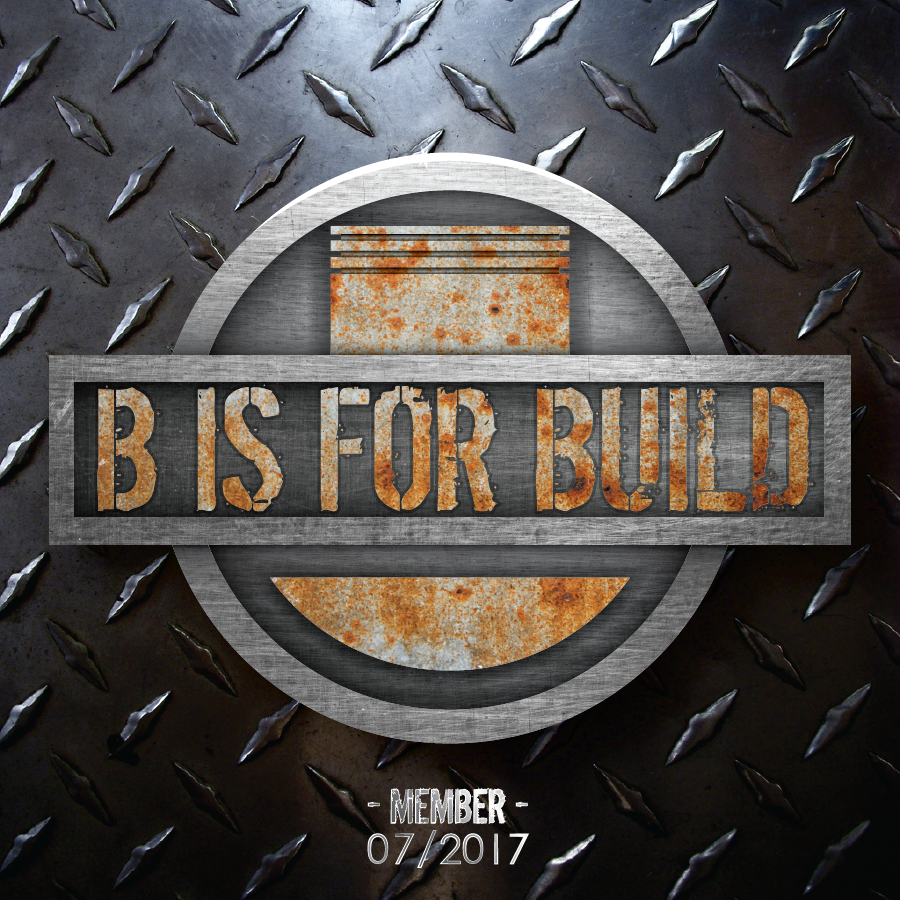 B is for Build x Tuner Crate Member Sticker