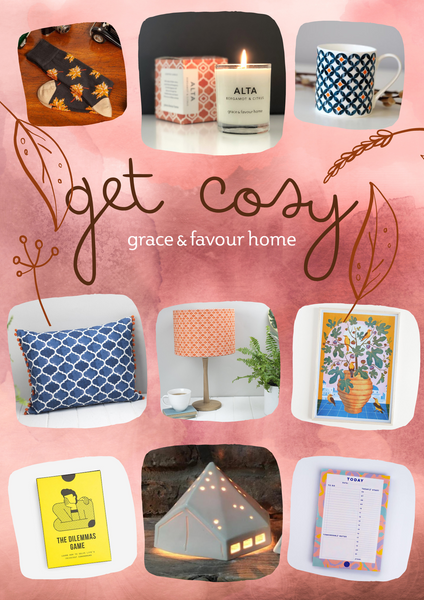 Get Cosy with Grace and Favour Home