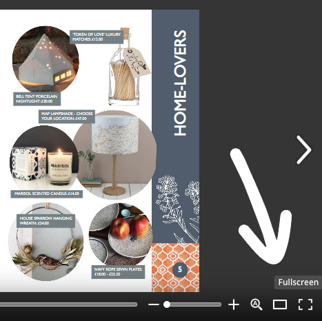 Grace & Favour Home Mother's Day Gift Guide Screenshot