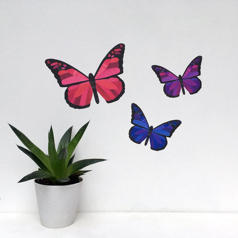 Butterfly Wall Stickers by Chameleon Wall Art
