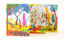 Summer Garden Concertina Postcards