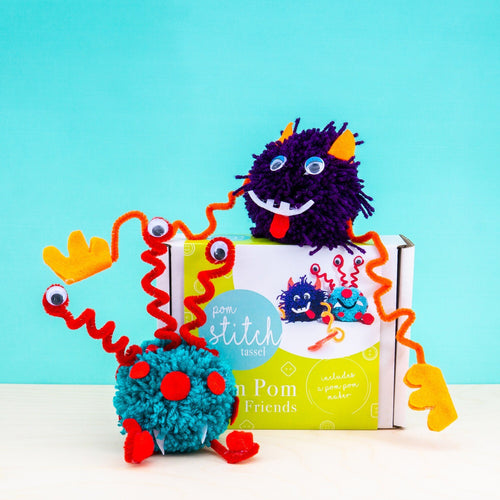 Alien Friends Pom Pom Craft Kit