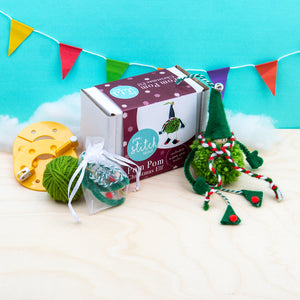 Christmas Elf Pom Pom Craft Kit