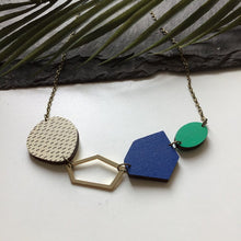Abstract Gem Necklace