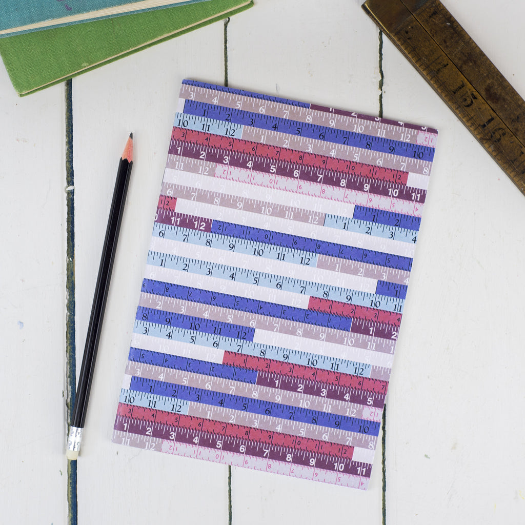 Tape Measures A5 Notebook