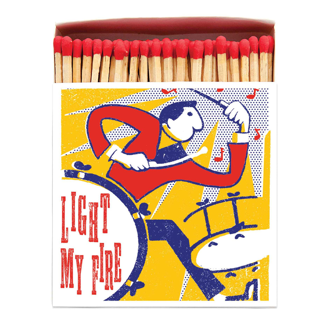 Light My Fire Drummer Match Box