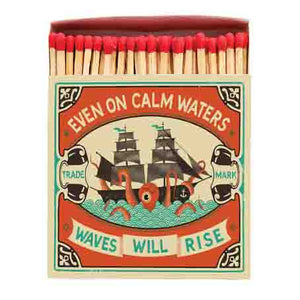 Even on Calm Waters Large Match Box