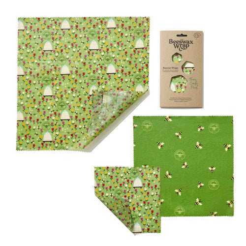 Beeswax Wrap 3 Sheet Pack
