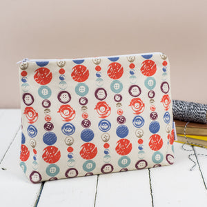 Buttons Toiletry Bag