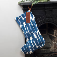 Personalised Christmas Stocking - Choice of Cadiz Fabrics