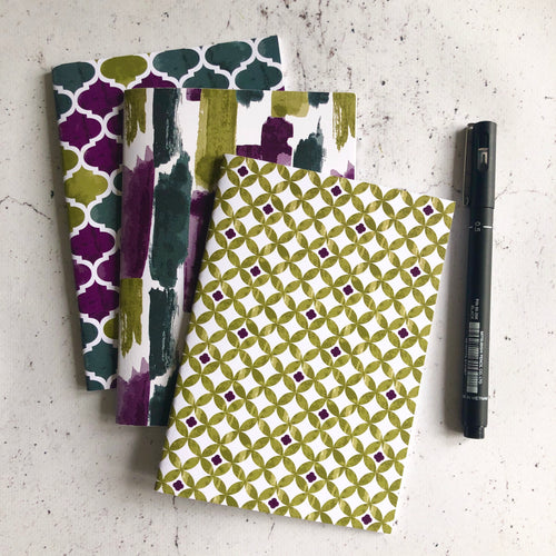 Set of 3 Cordoba Notebooks