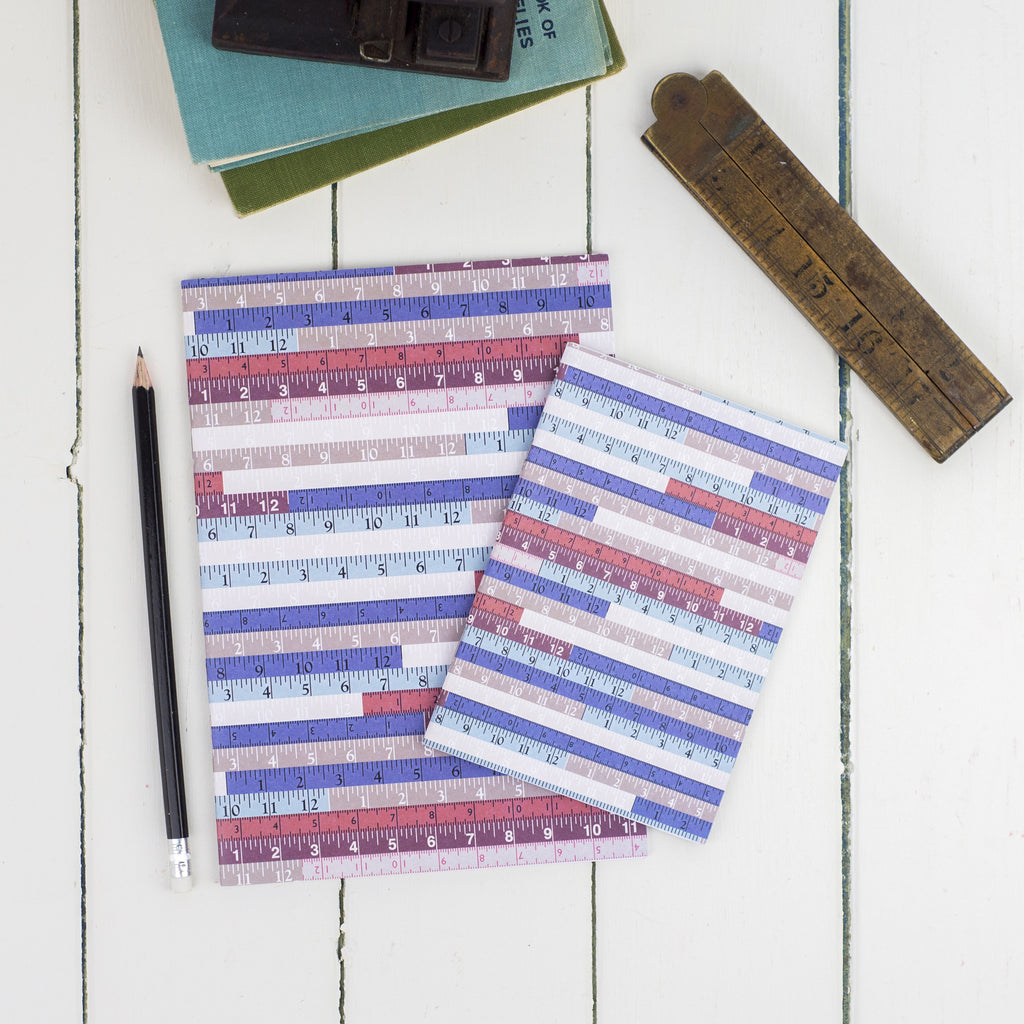 Tape Measures Notebook Set