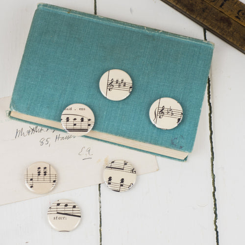 Vintage Music Badges