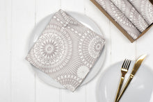 Nickel Napkins, Set of four