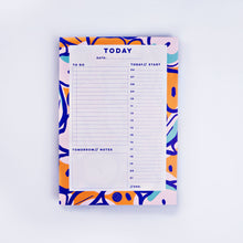 Daily Planner - Inky Flower Design