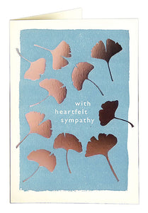 With Heartfelt Sympathy Card