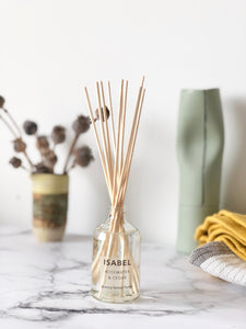 Isabel Reed Diffuser - Rosewater & Cedar