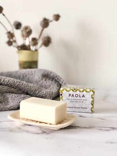 Paola Solid Shampoo Bar - For Dry Hair