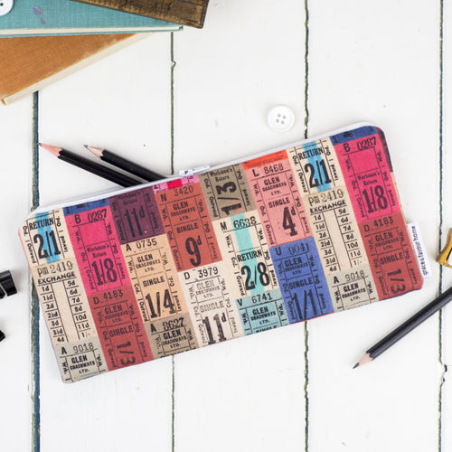 Tickets Pencil Case