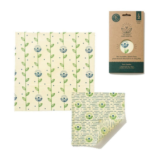 Vegan Food Wrap 2 Sheet Pack