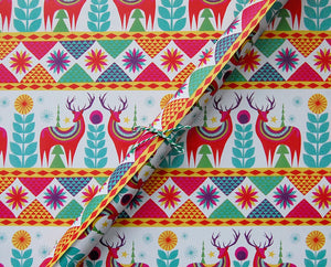 Winter Holiday Wrapping Paper