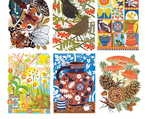 British Wildlife Postcard Pack