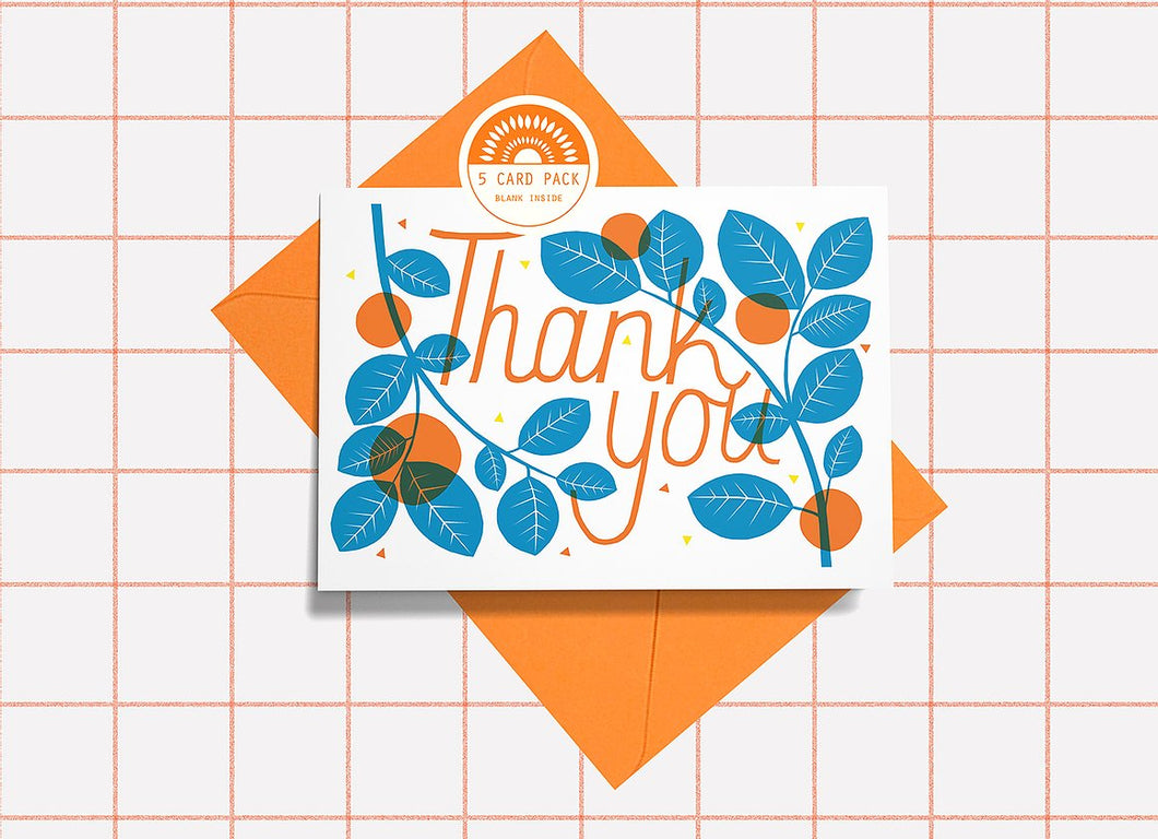 Thank You Cards 5 Pack