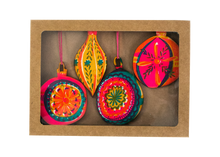 Christmas Bauble Wooden Decorations