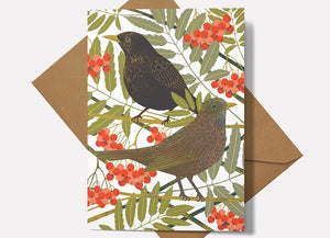 Blackbirds Card