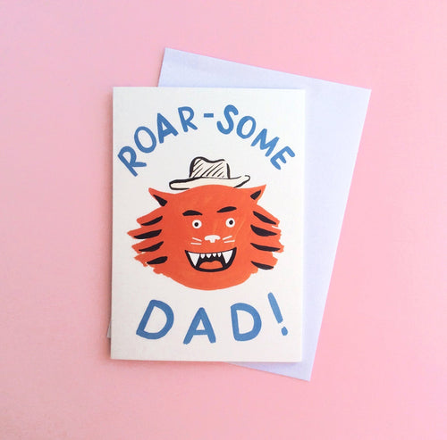Roar-Some Dad Card