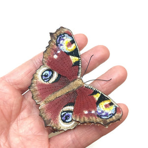 Peacock Butterfly Brooch