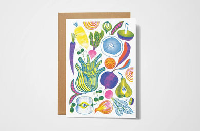 Roots, Fruits and Shoots Card