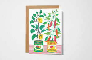 Chilli Peppers Card