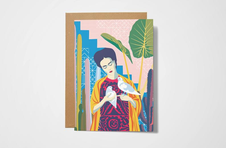 Frida Kahlo Card