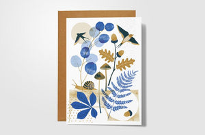 Autumn Hedgerow Card