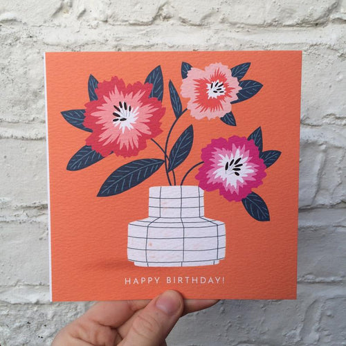Happy Birthday Blooms Card