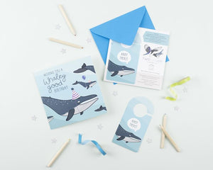 Whaley Good Birthday Card with Craft Activity
