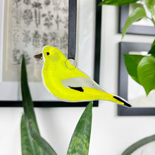Greenfinch Glass Decoration