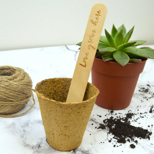 Love Puns Plant Marker Set
