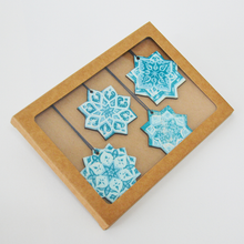 Christmas Star Wooden Decorations