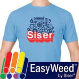 "Siser EasyWeed Standard Heat Transfer  Vinyl by the Sheet -  12"" x 15"" Sheet STANDARD & FLUORESCENT COLORS"