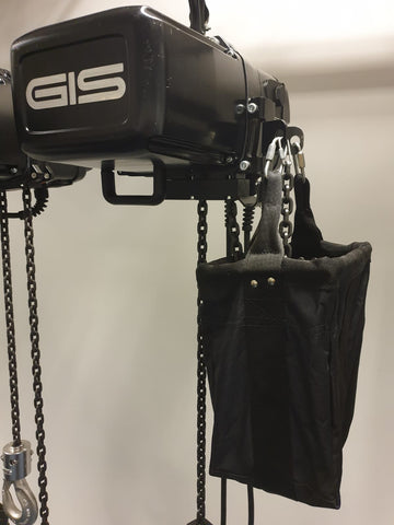 LGCB-150EW- Extra Large Extra Wide Chain Bag to suit LoadGuard Hoist Models LG25, LG50, LG10 and LG20/250