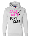 "Unisex Champion Hoodie ""Lake Hair Don't Care"" RB Clothing Co"