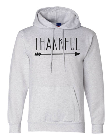 "Unisex Champion Hoodie ""Thankful Arrow"" RB Clothing Co"