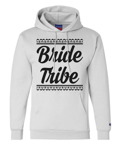 "Unisex Champion Hoodie ""Bride Tribe"" RB Clothing Co"