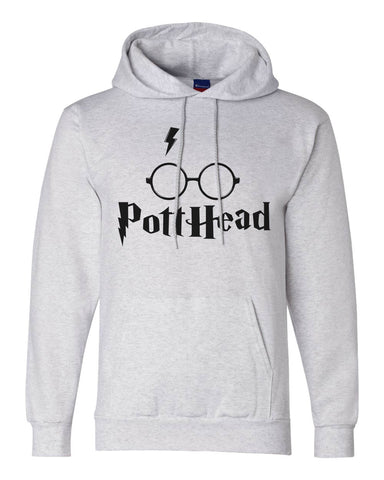 "Unisex Champion Hoodie ""Pott Head"" RB Clothing Co"