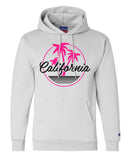 "Unisex Champion Hoodie ""California"" RB Clothing Co"