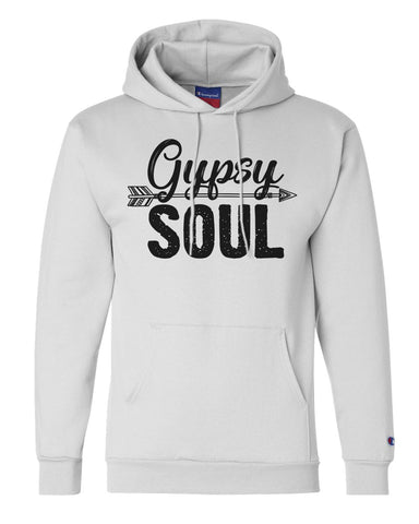 "Unisex Champion Hoodie ""Gypsy Soul"" RB Clothing Co"