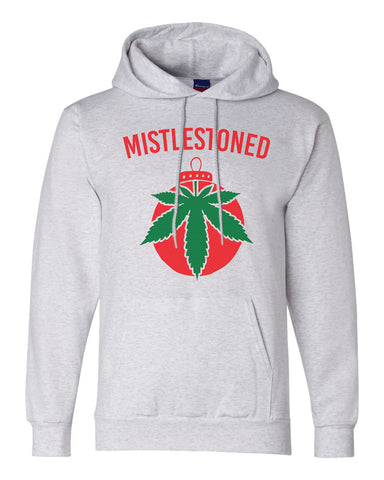 "Unisex Champion Hoodie ""Mistlestoned"" RB Clothing Co"