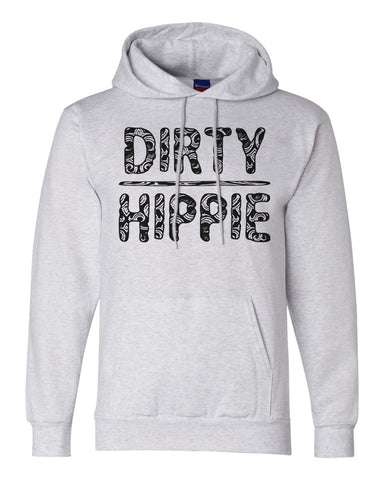 "Unisex Champion Hoodie ""Dirty Hippie"" RB Clothing Co"